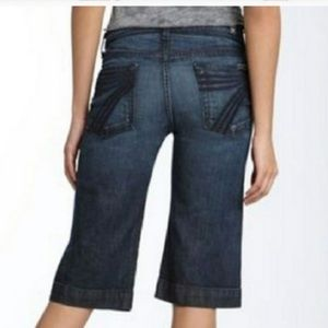 SALE 7for all Mankind Dojo Denim Jean Shorts 30